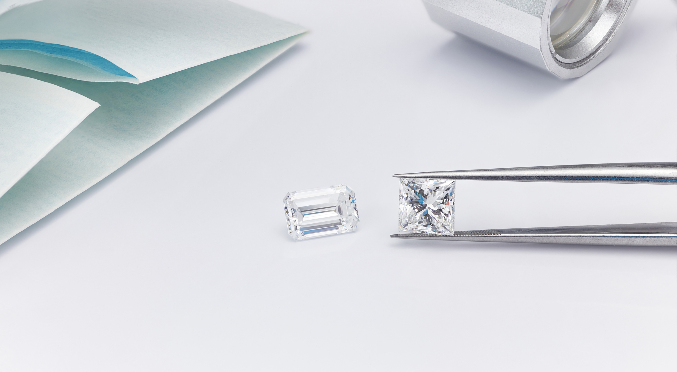F colour Princess Cut Diamond