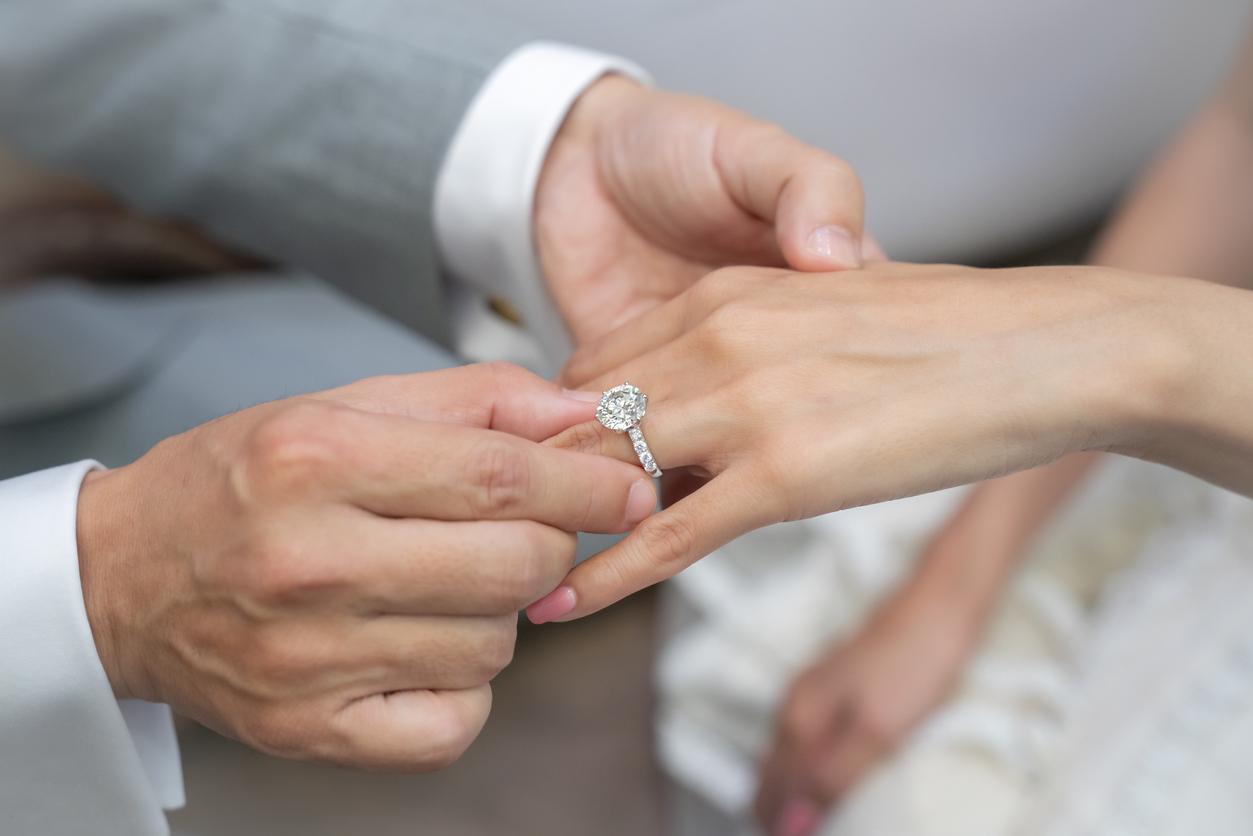 Sizing Diamond Ring  for her Finger